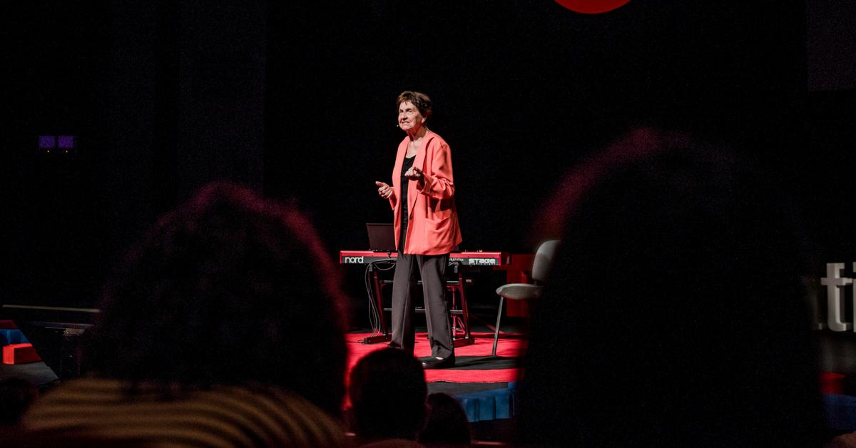 Eva Mosnáková na TEDxBratislava 2017